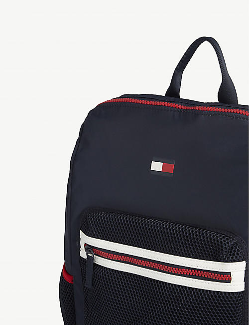 TOMMY HILFIGER Corporate recycled polyester backpack
