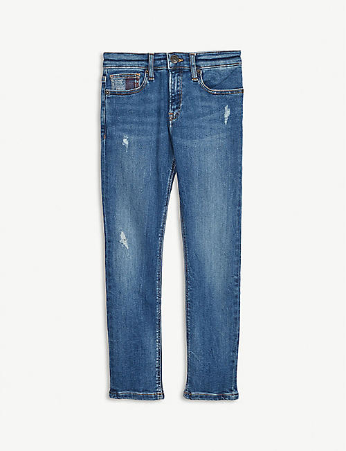 TOMMY HILFIGER Slim tapered leg jeans