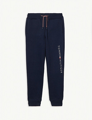 TOMMY HILFIGER Logo cotton-blend joggers 4-16 years