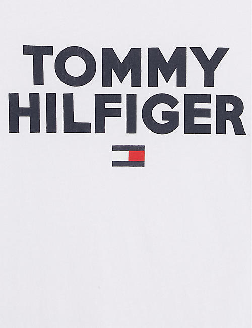 34f70079a40 TOMMY HILFIGER Logo cotton T-shirt 4-14 years