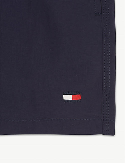 TOMMY HILFIGER Logo waistband swim shorts 4-16 years