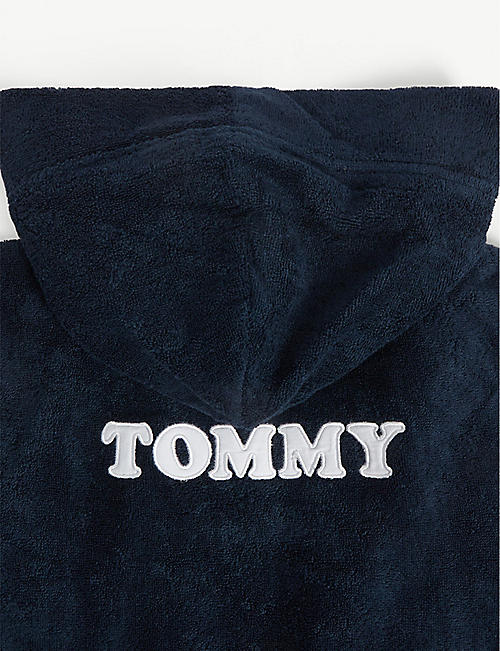TOMMY HILFIGER Logo dressing gown