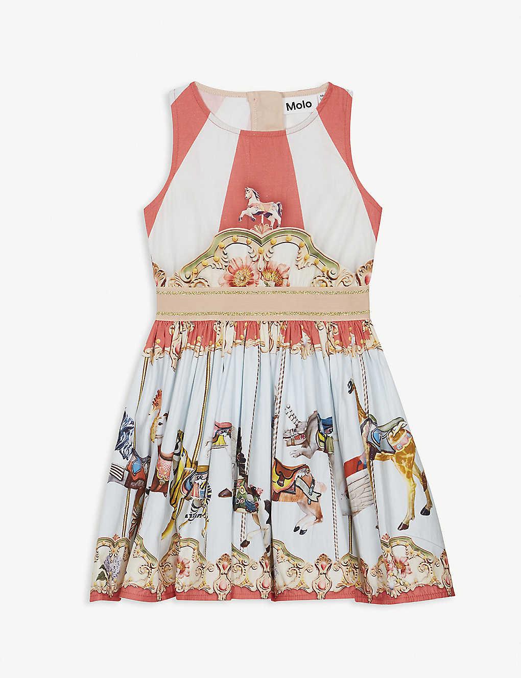 61d28b8c7f04 MOLO - Carousel print dress 3-14 years