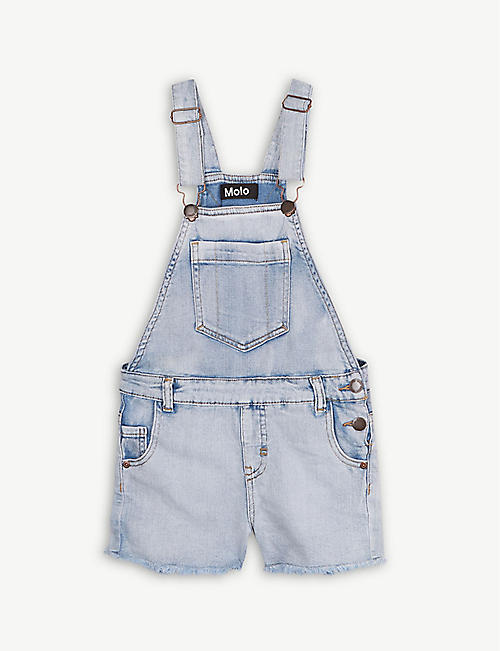 c847a9a47cec MOLO Acid wash cotton-blend dungarees 3-16 years