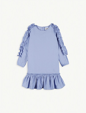 MOLO Cippe ruffle cotton dress 2-16 years
