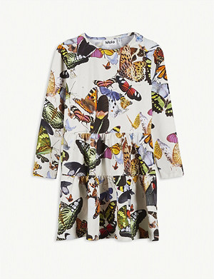 MOLO Chia cotton butterfly dress 2-16 years
