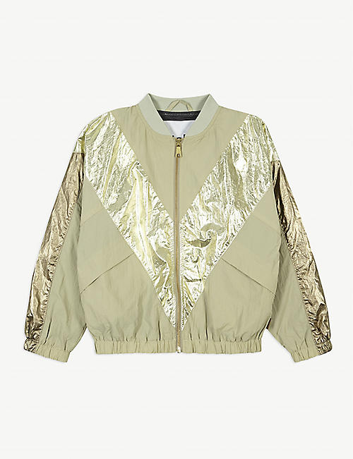 MOLO Helsa metallic shell bomber jacket 4-14 years