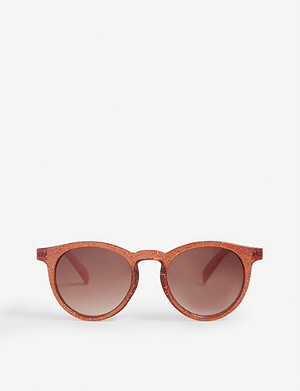 MOLO Round-frame tinted sunglasses