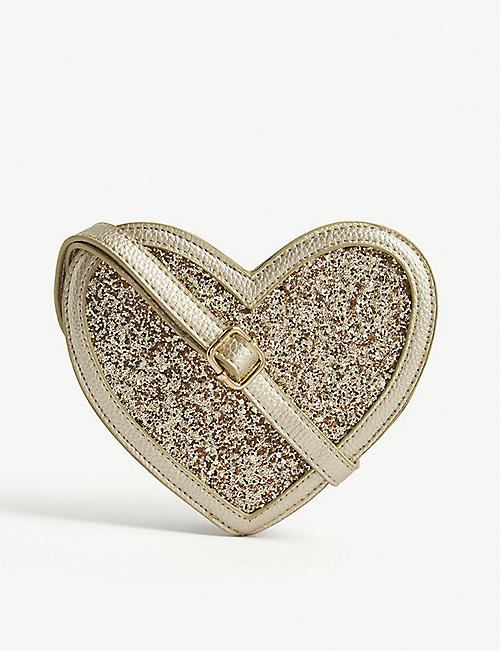 MOLO Glitter heart cross-body bag