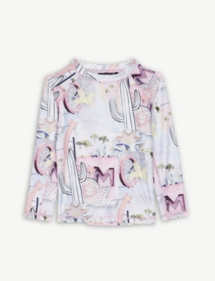 MOLO Flamingo UPF 50+ swim top 3-10 years