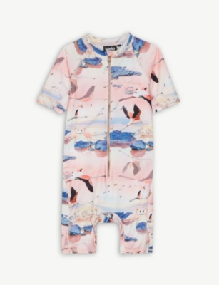 MOLO Flamingo UPF 50+ all-in-one sunsuit 3-8 years