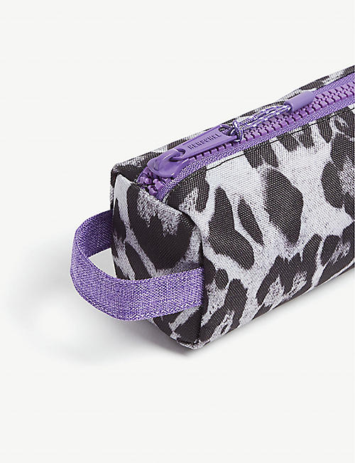 HERSCHEL SUPPLY CO Leopard print canvas pencil case