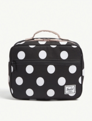 HERSCHEL SUPPLY CO Pop Quiz polka dot lunch box