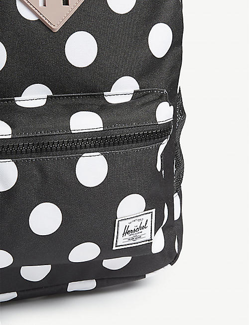 HERSCHEL SUPPLY CO Heritage Youth polka-dot backpack