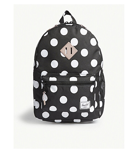 c8c327fa85 HERSCHEL SUPPLY CO Heritage Youth polka-dot backpack (Polkadot