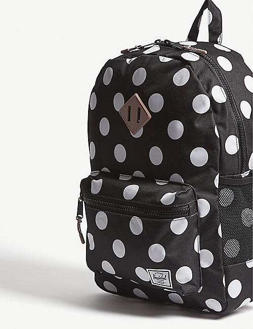 HERSCHEL SUPPLY CO Heritage Youth XL polka-dot backpack