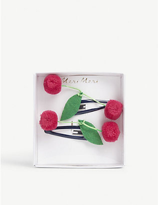 MERI MERI: Cherries set of two hair clips