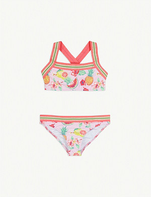 SUNUVA Tropical fruit protective bikini 3-14 years