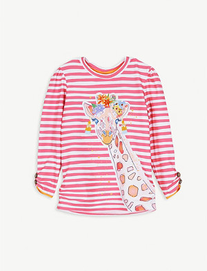 SUNUVA Giraffe striped rash vest 3-14 years