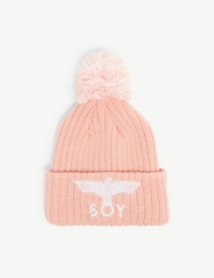 BOY LONDON Logo beanie hat