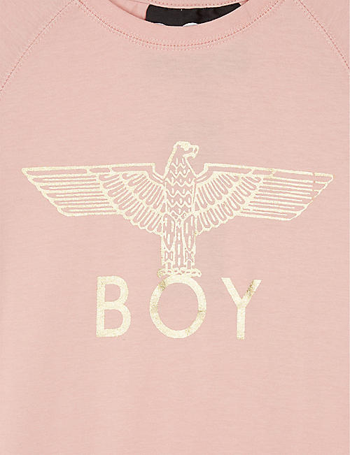 BOY LONDON Foil logo cotton T-shirt 3-16 years