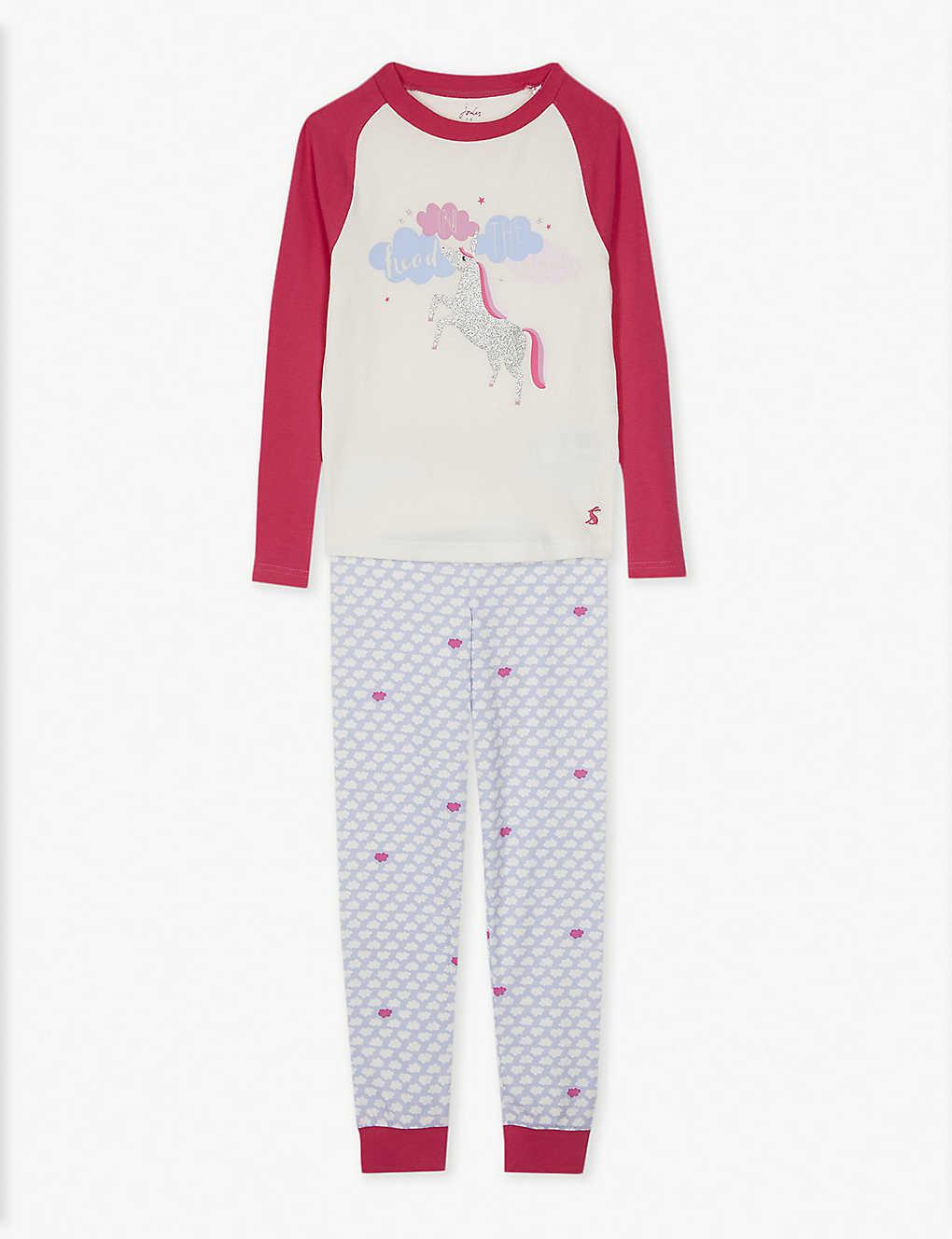40e63f086 JOULES - Cotton-blend pyjamas 4-12 years | Selfridges.com
