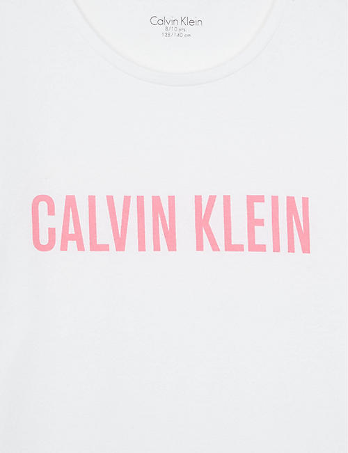 CALVIN KLEIN Logo cotton-blend pyjamas 8-16 years