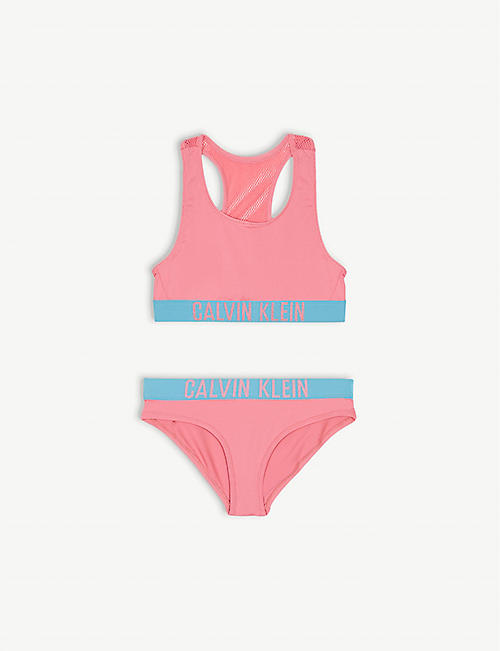56acccbb9b8 CALVIN KLEIN Intense Power cotton bralette and knickers set 8-16 years