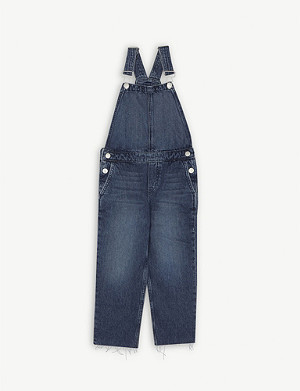CALVIN KLEIN JEANS Denim dungarees 4-16 years