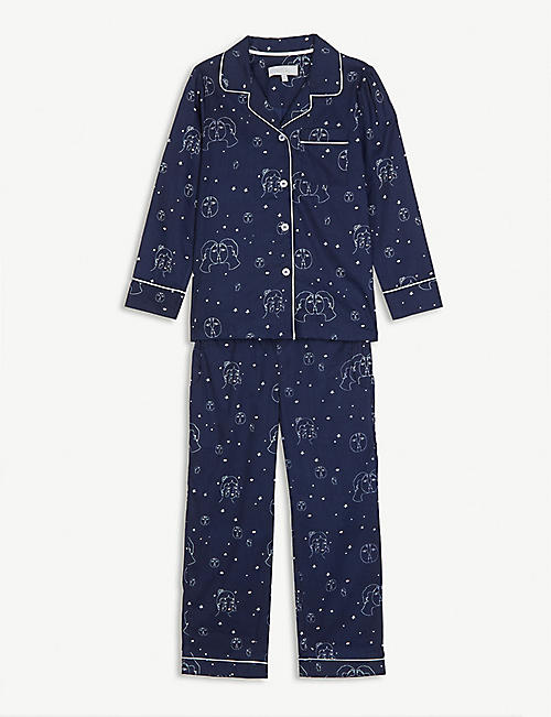 LITTLE YOLKE Cotton pyjama set 3-12 years