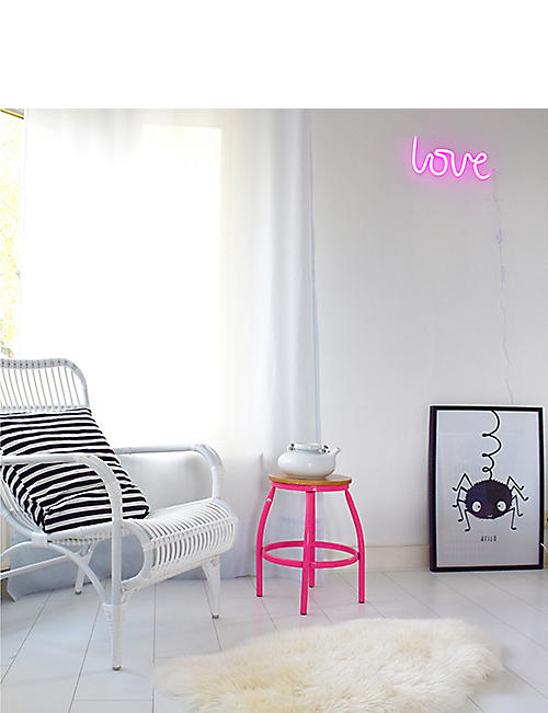 A LITTLE LOVELY COMPANY LOVE neon light