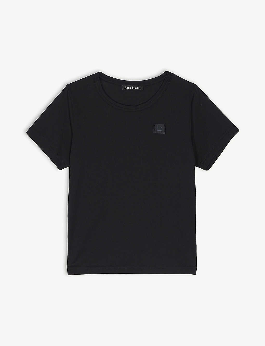 ACNE STUDIOS: Nash cotton T-shirt 3-10 years
