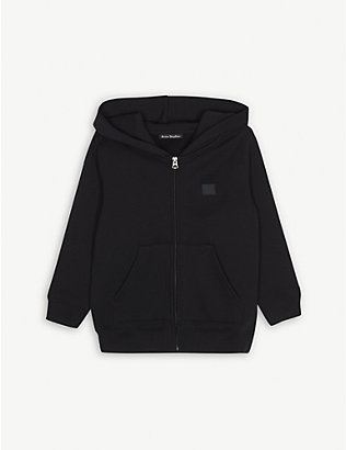 ACNE STUDIOS: Ferris cotton hoody 3-10 years