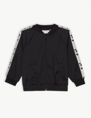 MINI RODINI Panda jersey jacket 4-11 years