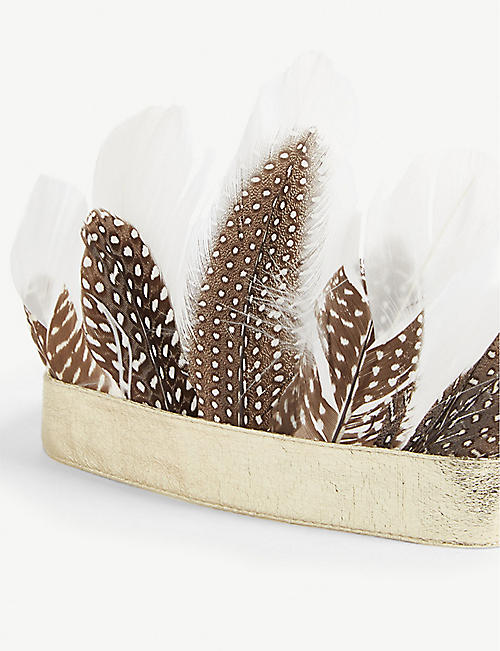 MIMI & LULA Feather crown