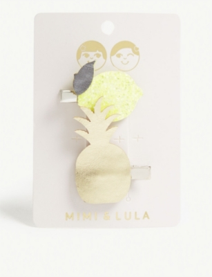 MIMI & LULA Fruit Salad hair clips