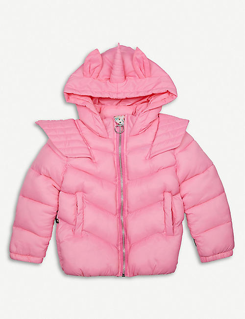 LIBERATED FOLK: Maisie unicorn puffer jacket 2-11 years