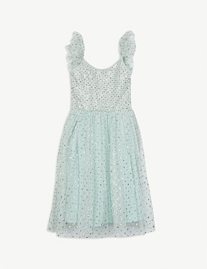 LIBERATED FOLK Glitter tulle midi dress 2-16 years