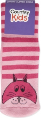 COUNTRY KIDS Animal slipper socks 6 months-12 years