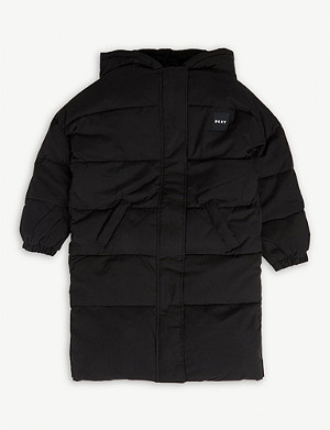 DKNY Logo puffer jacket 4-16 years