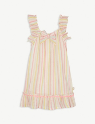 BILLIE BLUSH Striped glitter dress 4-12 years