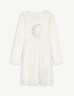 BILLIE BLUSH Moon and stars tulle dress 4-12 years