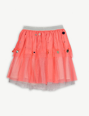BILLIE BLUSH Polka dot tulle skirt 4-12 years