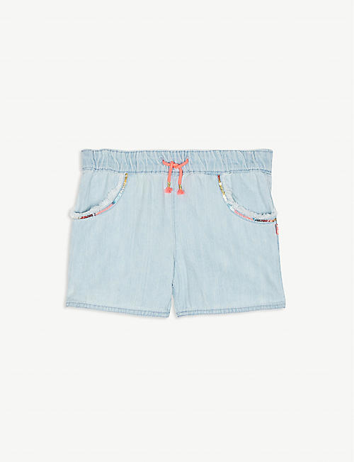 56bcfb1340 BILLIE BLUSH Sequin pockets denim shorts 4-12 years