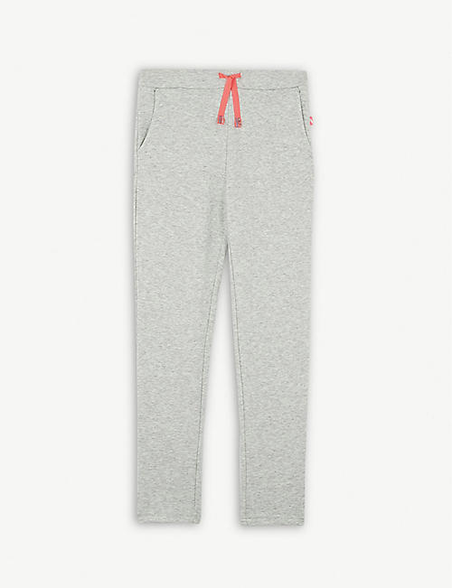 BILLIE BLUSH Sequin pocket cotton tracksuit bottoms 4-12 years