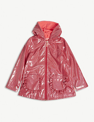BILLIE BLUSH Sparkle raincoat 4-12 years