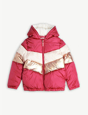 BILLIE BLUSH Quilted puffer jacket 4-12 years
