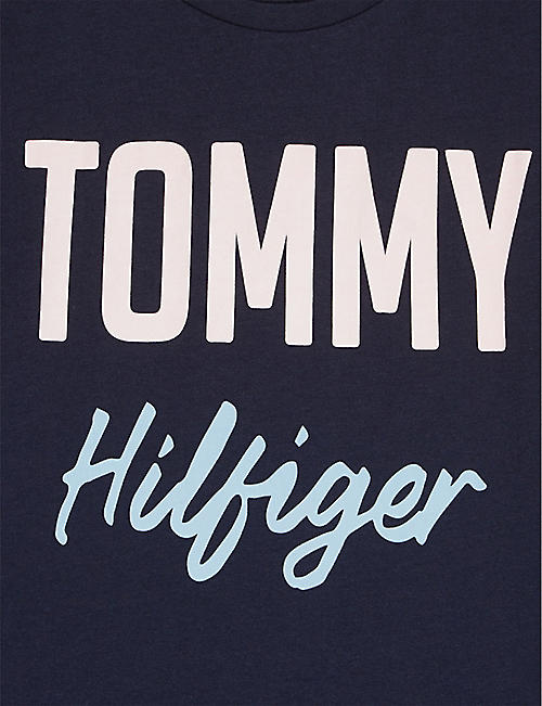 012dfa74eed TOMMY HILFIGER Boucle logo cotton T-shirt 4-16 years