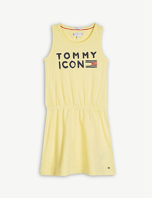 4699aaf58a689 TOMMY HILFIGER Icon cotton sleeveless dress 4-16 years