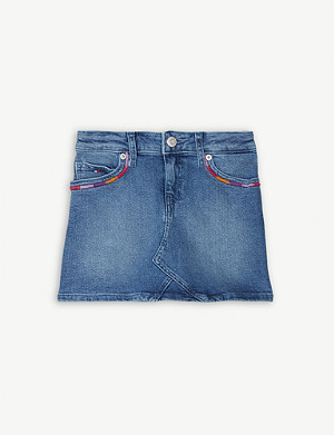 TOMMY HILFIGER Denim mini skirt 4-16 years